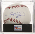 Autographs:Baseballs, Gary Sheffield Single Signed Baseball PSA Gem Mint 10....
