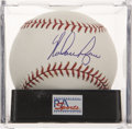 Autographs:Baseballs, Nolan Ryan Single Signed Baseball PSA Mint+ 9.5....