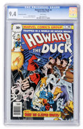 Bronze Age (1970-1979):Cartoon Character, Howard the Duck #4 30-Cent Variant (Marvel, 1976) CGC NM 9.4 Whitepages....