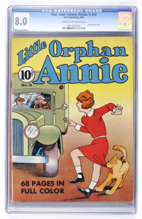 Four Color (Series One) #12 Little Orphan Annie (Dell, 1940) CGC VF 8.0 Cream to off-white pages