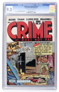 Golden Age (1938-1955):Crime, Crime Does Not Pay #51 (Lev Gleason, 1947) CGC NM- 9.2 Off-white to white pages....
