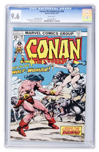 Conan the Barbarian #49 (Marvel, 1975) CGC NM+ 9.6 White pages