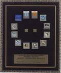Explorers:Space Exploration, Apollo Astronauts Matches Framed Display, Serial Number 1060,Directly from the Personal Collection of Astronaut Ron Evans....