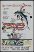"Movie Posters:Adventure, Flipper's New Adventure (MGM, 1964). One Sheet (27"" X 41"") andLobby Card Set of 8 (11"" X 14""). Adventure.. ... (Total: 9 Items)"