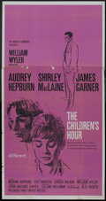 "Movie Posters:Drama, The Children's Hour (United Artists, 1962). Three Sheet (41"" X81""). Drama.. ..."