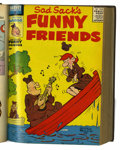 Silver Age (1956-1969):Humor, Sad Sack's Funny Friends #1-30 Bound Volumes (Harvey, 1955-60).... (Total: 2 Items)