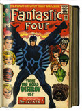 Silver Age (1956-1969):Superhero, Fantastic Four #46-129 and Annuals #4-9 Bound Volumes (Marvel, 1966-72).... (Total: 7 Items)