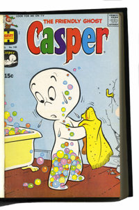 Harvey Assorted January-August 1970 Comics Bound Volumes (Harvey, 1970).... (Total: 5 Items)