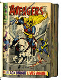 Bronze Age (1970-1979):Superhero, The Avengers #48-106 Bound Volumes (Marvel, 1968-72).... (Total: 5Items)