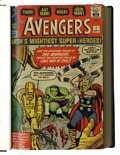 Silver Age (1956-1969):Superhero, The Avengers #1-23 Bound Volumes (Marvel, 1963-65).... (Total: 2 Items)
