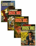 Golden Age (1938-1955):Horror, Strange Suspense Stories #18-20 and 22 Group (Charlton, 1954-)....(Total: 4 Comic Books)