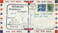 Autographs:Celebrities, Gemini 4 Crew-Signed Navy Recovery Ship Cover....