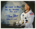 Autographs:Celebrities, Buzz Aldrin Color Photo Signed....