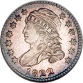 Bust Dimes, 1822 10C MS64 ★ NGC....