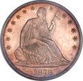 Seated Half Dollars, 1878-S 50C MS64 PCGS....