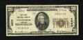 National Bank Notes:Maryland, Gaithersburg, MD - $20 1929 Ty. 1 The First NB Ch. # 4608. ...