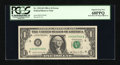 Error Notes:Miscellaneous Errors, Fr. 1912-H $1 1981A Federal Reserve Note. PCGS Superb Gem New 68PPQ.. ...