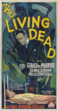 "Movie Posters:Horror, The Living Dead (British International Pictures, 1933). Three Sheet(41"" X 81"").. ..."