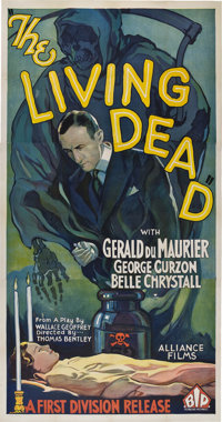 """The Living Dead (British International Pictures, 1933). Three Sheet (41"""" X 81"""")"""