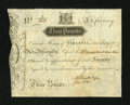 Colonial Notes:Virginia, Virginia March 4, 1773 £3 Extremely Fine-About New....