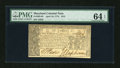 Colonial Notes:Maryland, Maryland April 10, 1774 $2/3 PMG Choice Uncirculated 64 EPQ....