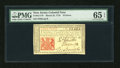 Colonial Notes:New Jersey, New Jersey March 25, 1776 18d PMG Gem Uncirculated 65 EPQ....