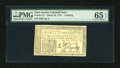 Colonial Notes:New Jersey, New Jersey March 25, 1776 1s PMG Gem Uncirculated 65 EPQ....
