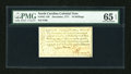 Colonial Notes:North Carolina, North Carolina December, 1771 10s PMG Gem Uncirculated 65 EPQ....