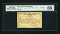 Colonial Notes:New York, New York January 6, 1776 (Water Works) 4s PMG Gem Uncirculated 66EPQ....
