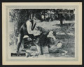 "Movie Posters:Drama, The Trail of the Law (Producers Security Corp., 1924). Lobby Card (11"" X 14""). Drama.. ..."