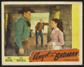 "Movie Posters:Western, Angel and the Badman (Republic, 1947). Lobby Card (11"" X 14""). Western.. ..."
