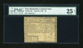 Colonial Notes:New Hampshire, New Hampshire April 29, 1780 $2 PMG Very Fine 25 Net....