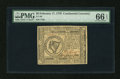 Colonial Notes:Continental Congress Issues, Continental Currency February 17, 1776 $8 PMG Gem Uncirculated 66EPQ....