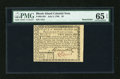 Colonial Notes:Rhode Island, Rhode Island July 2, 1780 $2 PMG Gem Uncirculated 65 EPQ....