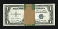 Small Size:Silver Certificates, Fr. 1617 $1 1935G With Motto Silver Certificates. Sixty Examples. Choice Crisp Uncirculated.. ... (Total: 60 notes)