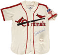 Autographs:Jerseys, Stan Musial Signed Jersey And Single Signed Baseball ....