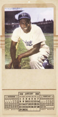 Baseball Collectibles:Others, Jackie Robinson Vintage 1950 Calendar. ...