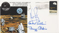 Autographs:Celebrities, Apollo 11 Crew-Signed Insurance Cover Originally from the Personal Collection of Mission Lunar Module Pilot Buzz Aldrin, Numbe...