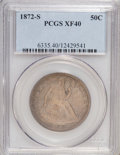 Seated Half Dollars: , 1872-S 50C XF40 PCGS. PCGS Population (4/37). NGC Census: (3/26).Mintage: 580,000. Numismedia Wsl. Price for NGC/PCGS coin...