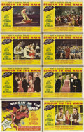 "Movie Posters:Musical, Singin' in the Rain (MGM, 1952). Lobby Card Set of 8 (11"" X 14"")..... (Total: 8 Items)"