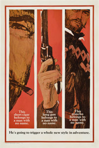 "A Fistful of Dollars (United Artists, 1967). One Sheet (27"" X 41"") Advance Style B"