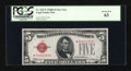 Small Size:Legal Tender Notes, Fr. 1527* $5 1928B Legal Tender Star Note. PCGS Choice New 63.. ...