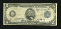 Fr. 861 $5 1914 Federal Reserve Note Good-Very Good