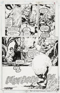 Original Comic Art:Panel Pages, Howard Porter and John Dell JLA #6, page 15 original Art(DC, 1997)....