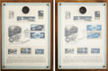 Autographs:U.S. Presidents, Gerald Ford Apollo-Soyuz Test Project First Day Covers (Two)Signed. ... (Total: 5 Items)