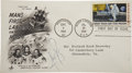 "Autographs:Celebrities, Neil Armstrong ""First Man on the Moon"" First Day Cover Signed...."