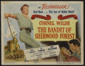 "Movie Posters:Adventure, The Bandit of Sherwood Forest (Columbia, 1946). Title Card andLobby Cards (6) (11"" X 14""). Adventure.. ... (Total: 7 Items)"