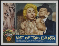 "Not of this Earth (Allied Artists, 1957). Lobby Card Set of 4 (11"" X 14""). Science Fiction. ... (Total: 4 Item..."