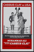 "Movie Posters:Documentary, Muhammad Ali a.k.a. Cassius Clay (United Artists, 1970). International One Sheet (27"" X 41""). Sports Documentary.. ..."