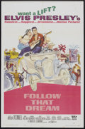 """Movie Posters:Elvis Presley, Follow That Dream (United Artists, 1962). One Sheet (27"""" X 41"""")Lobby Cards (2) (11"""" X 14"""") and Pressbook (Multiple Pages, 1...(Total: 4 Items)"""